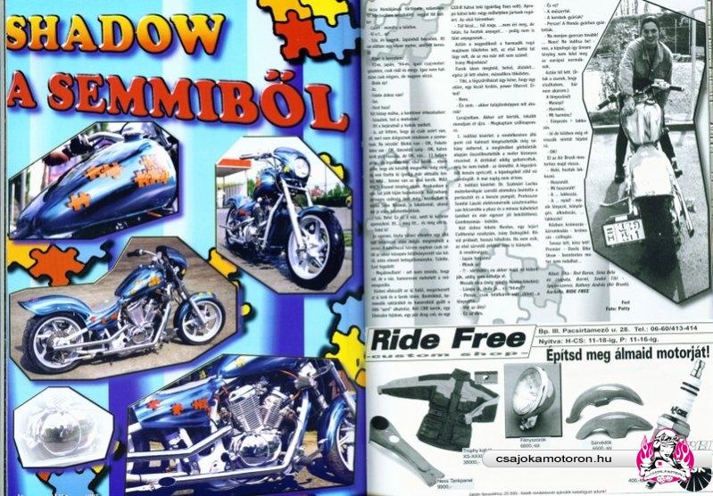Cikk a Wild magazinban 1998-ban