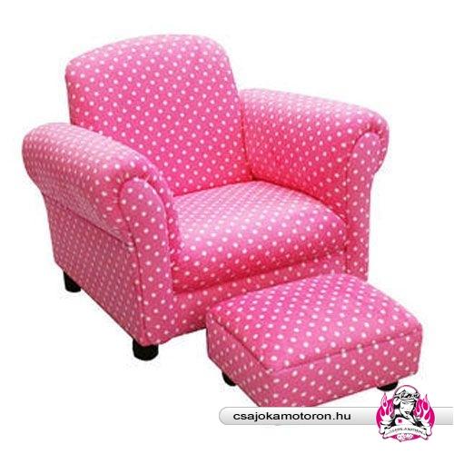 Pöttyös fotel :)