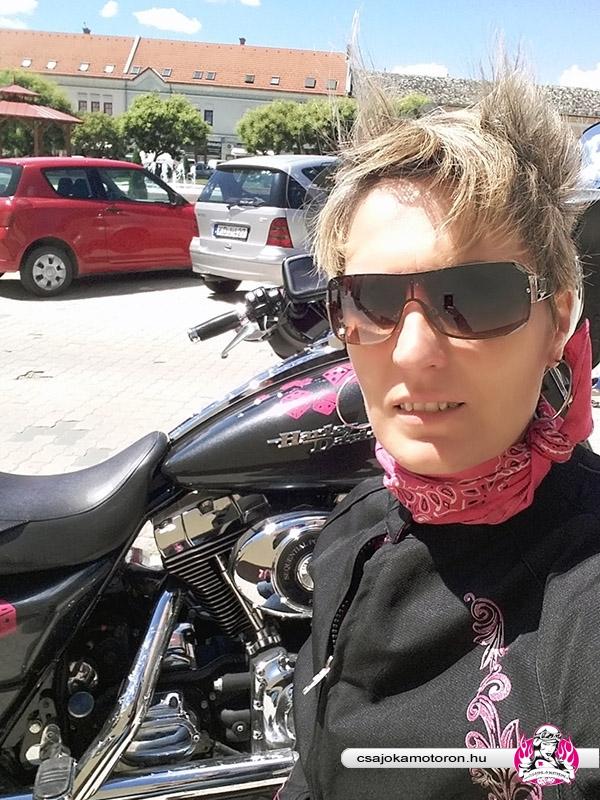 Újra motoroztam