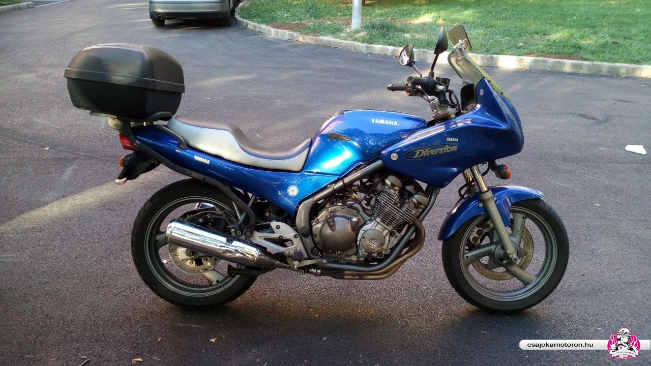 Yamaha XJ600S
