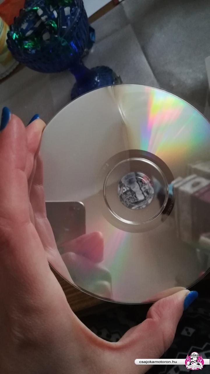 törött lemez