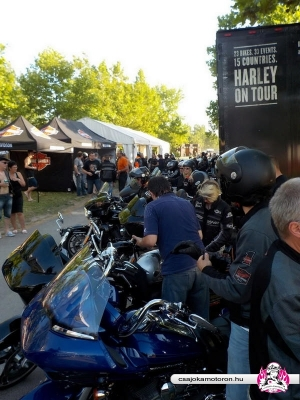 Harley-Davidson Press Ride 2016 Alsóörs