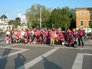 7. Nemzetközi Női Motoros Nap - Érkezés a Hős(n)ök terére
