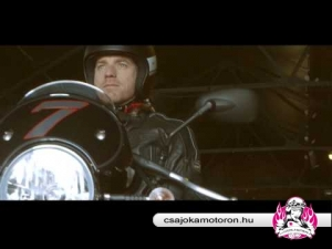 Ewan McGregor and Moto Guzzi V7 Racer