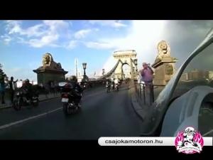 Csajok a motoron 2016.05.07 Budapest